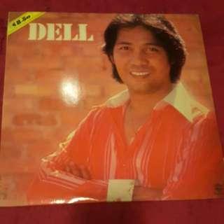 Dell Vinyl Record / Piring Hitam