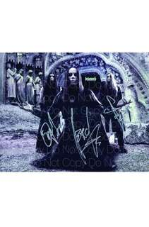 Behemoth Band Signed Picture (Reprint)