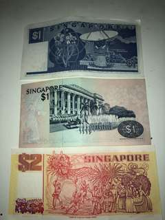 Old SG Currency, Open for offers!