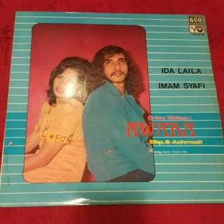 Ida Laila Imam Syafi Vinyl Record / Piring Hitam