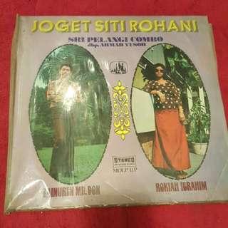 Joget Siti Rohani Vinyl Record / Piring Hitam