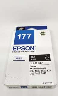 🚚 EPSON-177-黑色墨水匣