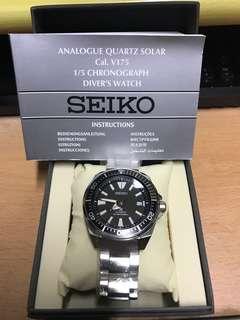 "Seiko PROSPEX Diver's 200M ""Samurai"" Black Dial SRPB51K1"