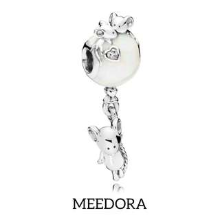MOUSE AND BALLOONS CHARM PANDORA