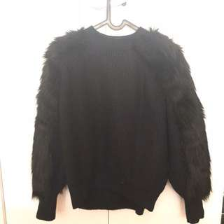 H&M sweater bulu fur winter