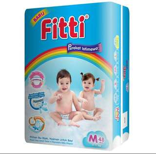 Pampers Fitti Rainbow Tape Perekat Istimewa M