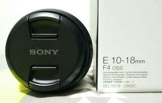 Sony SEL1018 Ultra Wide Angle Lens