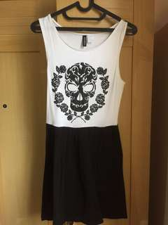 H&M Divided Skull Dress