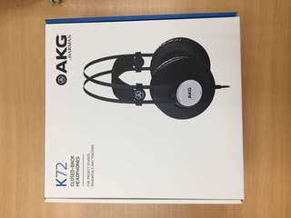 Brand new AKG K72 headphone