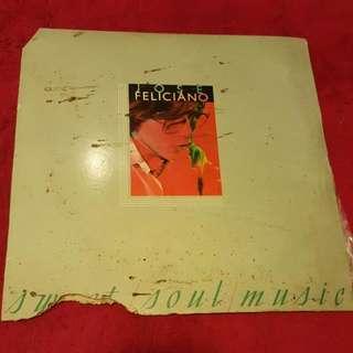 LP/ Jose Feliciano Vinyl Records/Piring Hitam