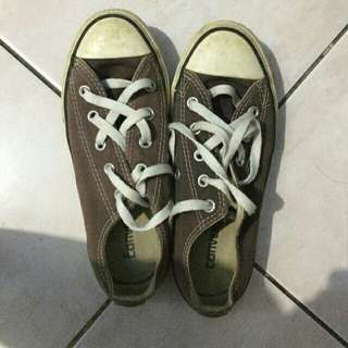 Converse rubber shoes (preloved)