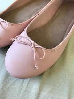 OLD NAVY Blush Ballet Flats US7