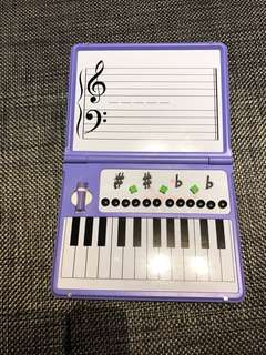Piano learning aid