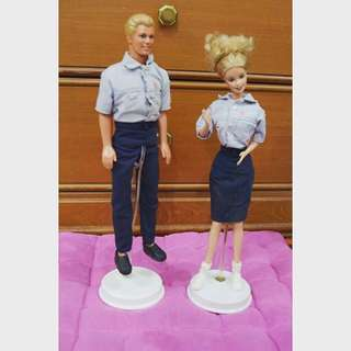 Barbie and Ken Mattel