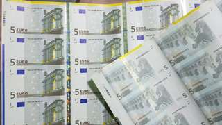 Euro€5 Uncutmoney of 25in1