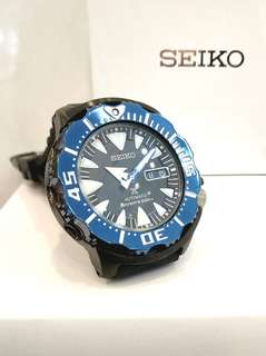 * FREE DELIVERY * Brand New 100% Authentic Seiko Prospex Blue Monster Automatic Mens Diver Watch SRP581K
