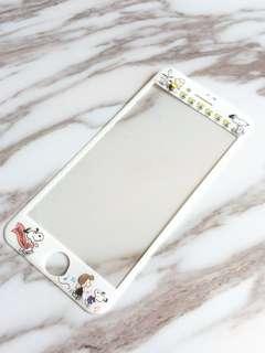 iPhone 螢幕 保護貼 iPhone7 iPhone8 protector Snoopy 電話保護貼 手機配件