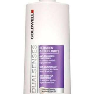 Goldwell Dual Senses Blondes & Highlights Shampoo 1500ml by Goldwell