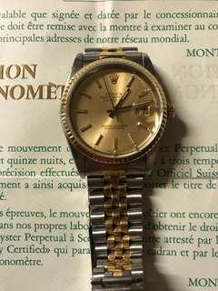 Rolex 16233 Date just