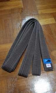 Aikido/karate brown belt
