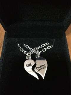 Love, Simon! Movie premiums necklaces