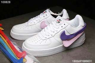 NIKE AIR FORCE ONE PATCH COLOR  🇭✈🇰📦