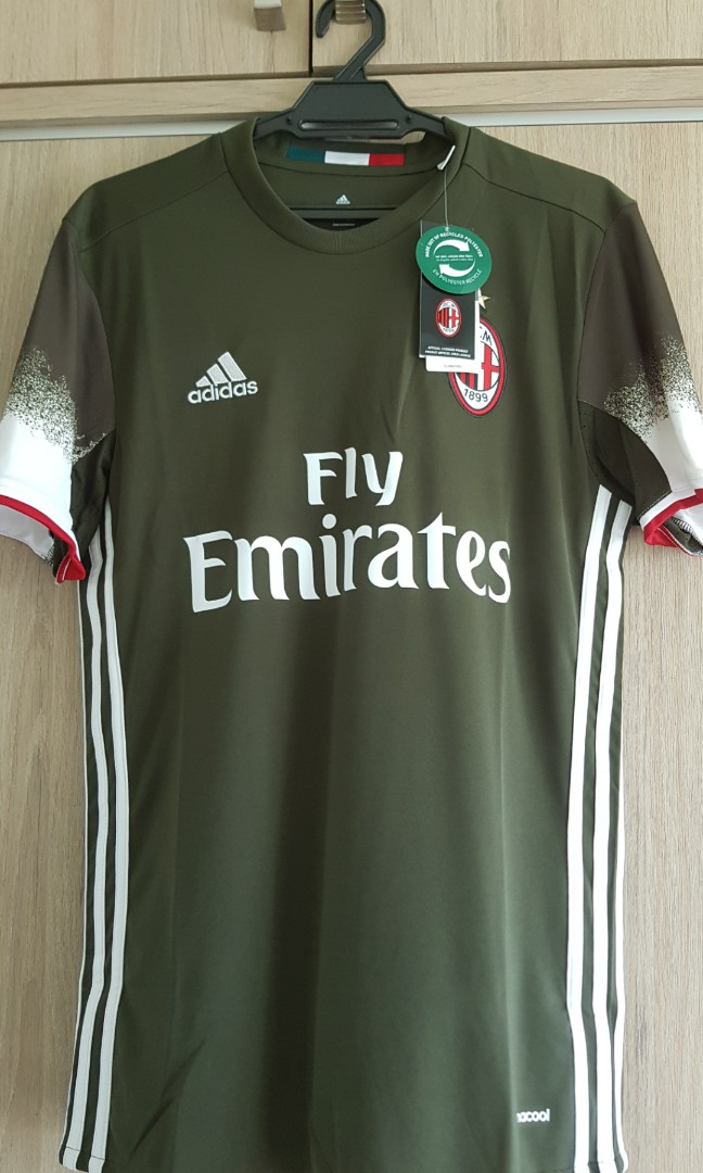 new style 38da1 2e8a8 AC Milan 3rd kit brand new jersey size S