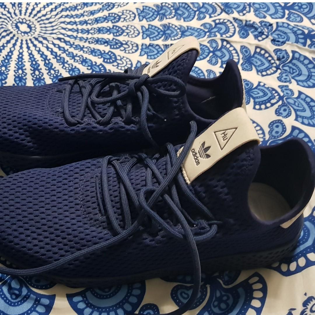 b80231259 adidas x Pharrell Williams Tennis Hu Dark Blue UK Size 7
