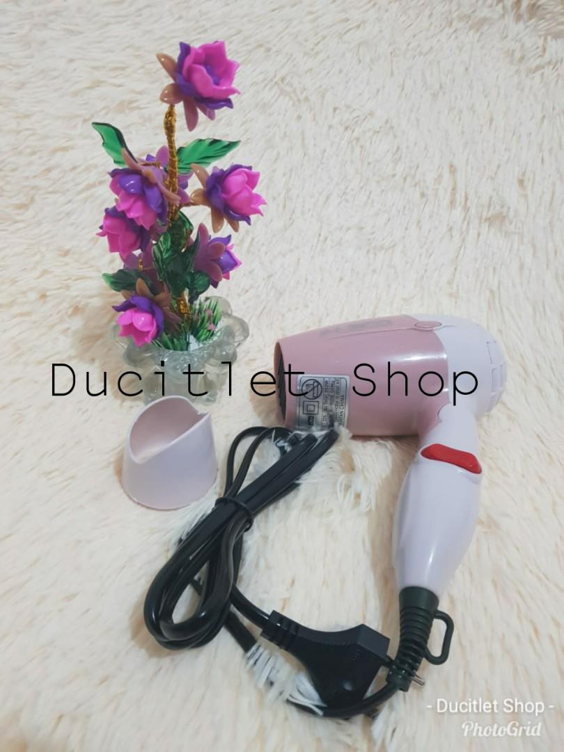 Alat Pengering Rambut Wanita Hairdryer Cewek Hair Dryer Mini Lipat Fleco Bisa Dilipat Elektronik Lainnya Di Carousell