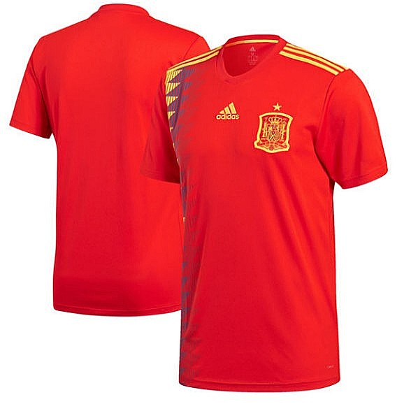 huge selection of 1dd4f a683a (Authentic) Spain FIFA World Cup 2018 Home Jersey