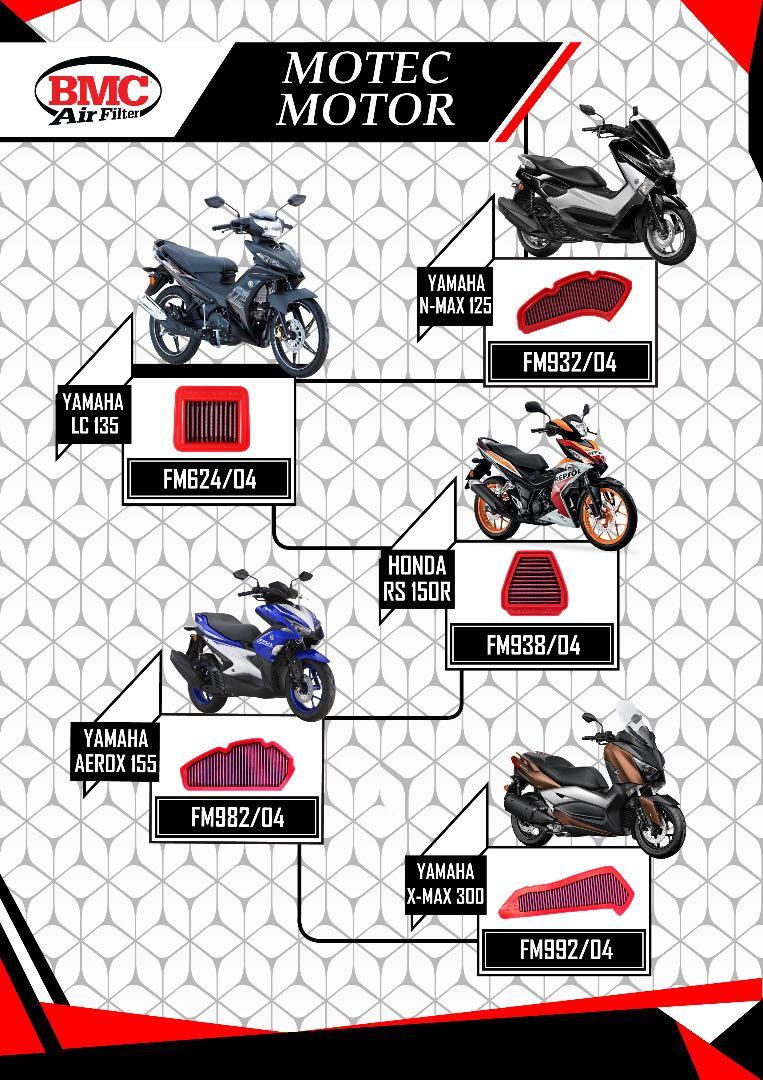 Bmc Filter Motorbikes Motorbike Accessories On Carousell Gantungan Barang Honda Model Lipat Ori