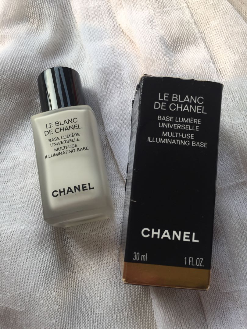 Chanel Le Blanc De Illuminating Base Kesehatan Kecantikan Makeup Photo
