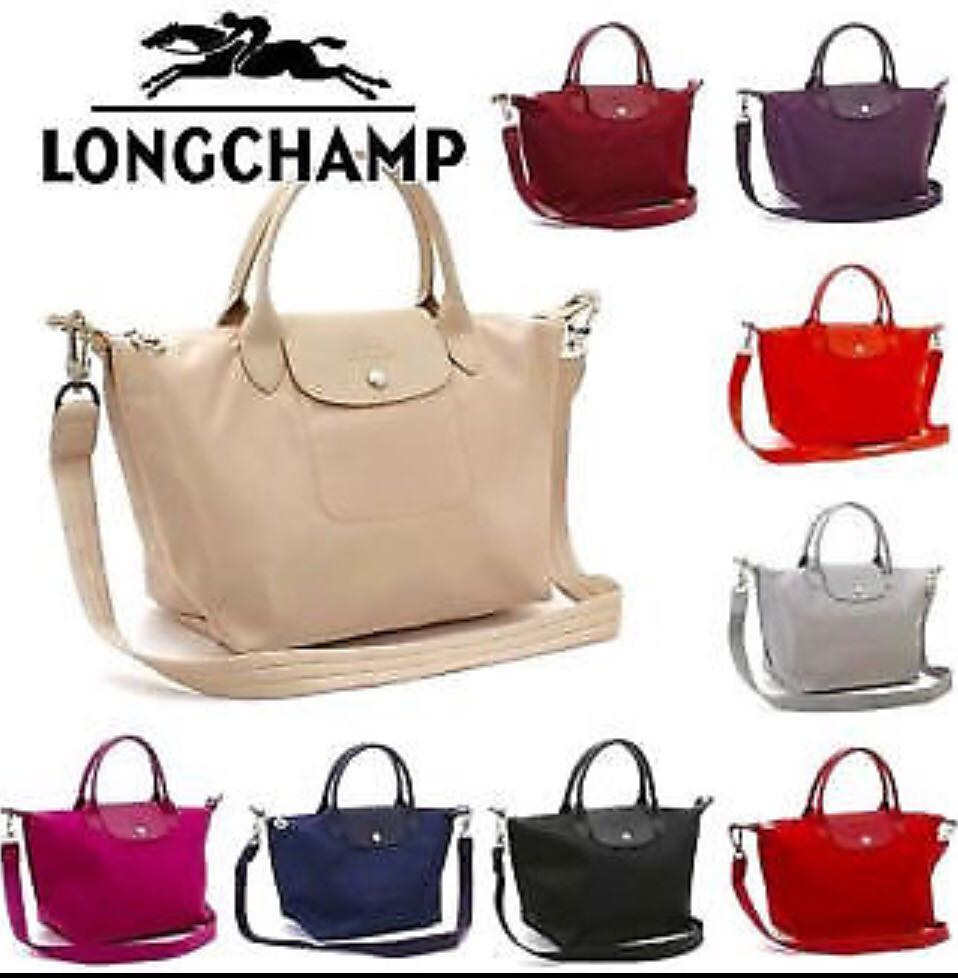 CLEARANCE SALES!!Authentic Longchamp Le Pliage Neo Small   Medium ... 38a3e96040c35