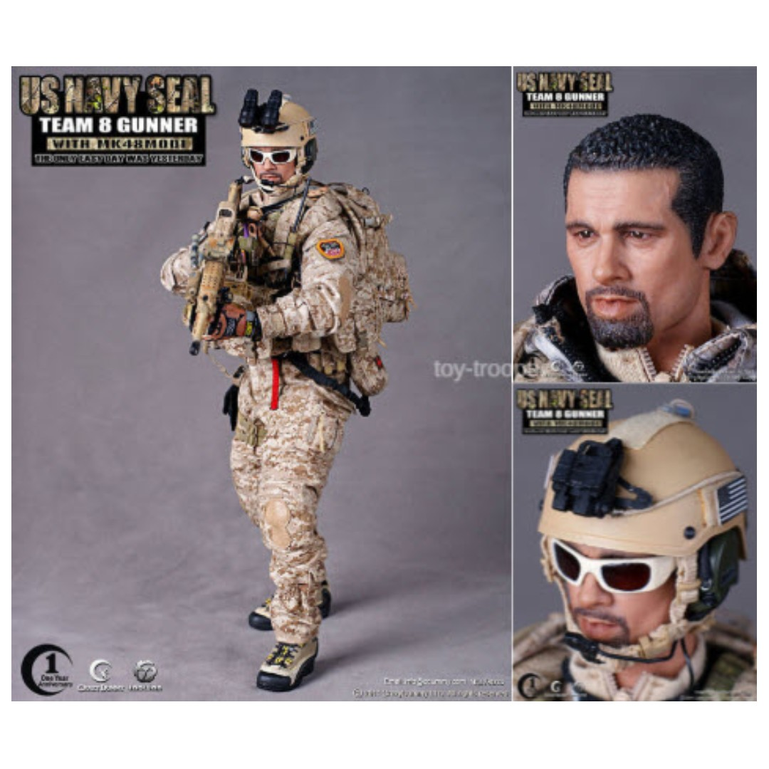 Crazy Dummy [ONE YEAR ANNIVERSARY] 1/6th Scale US Navy SEAL