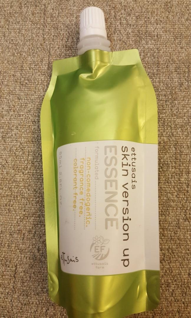 Ettusais skin version up essence (補充裝85ml)