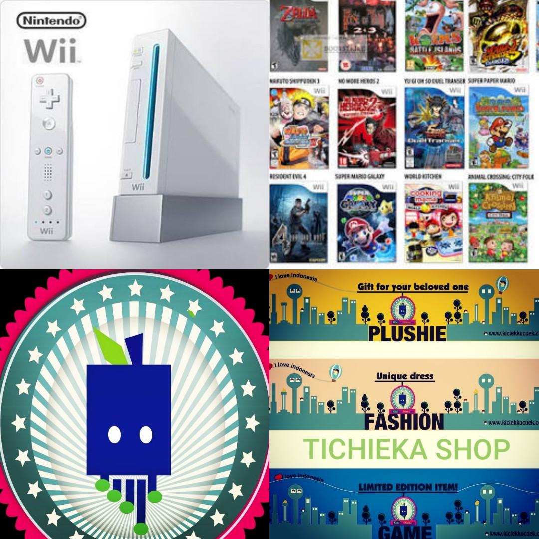 Flash Sale Kaset Wii Murah Meriah Request Game Langka Video Gaming Psn Card Indonesia Idr 225000 Games On Carousell