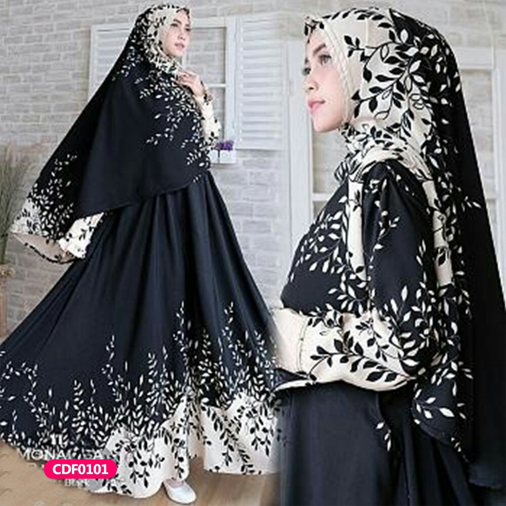 Gamis Wanita Muslim Dress Syari Ranada Olshop Fashion Olshop