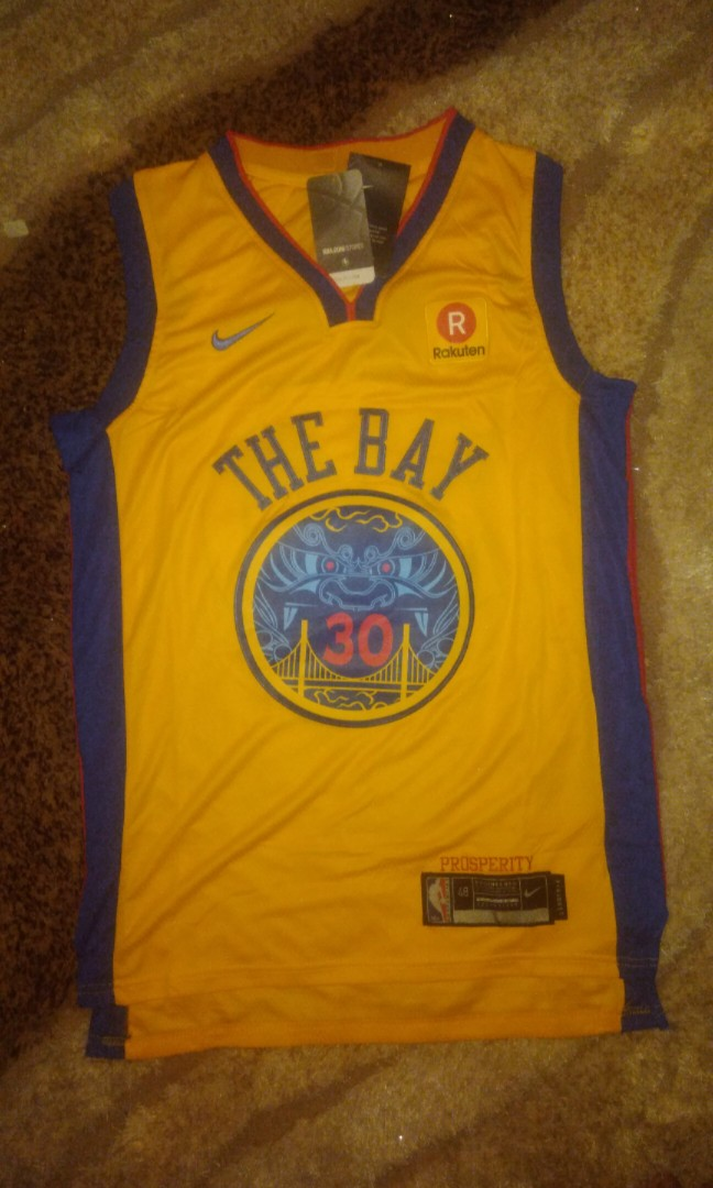 0f59751e2 Golden State Warriors Nike Dri-fit Youth Custom Chinese, Men's Fashion,  Clothes on Carousell