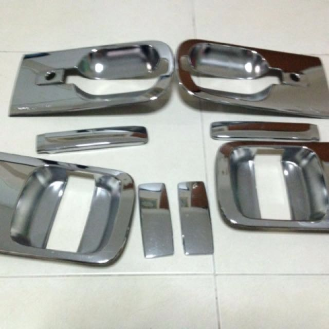 Hyundai Starex Chrome Door Handle Cover, Car Accessories on Carousell