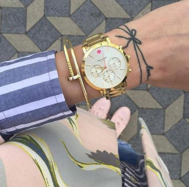 KATE SPADE GRAMERCY GOLD WATCH
