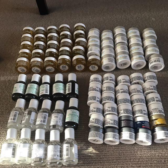 Kiehl's samples