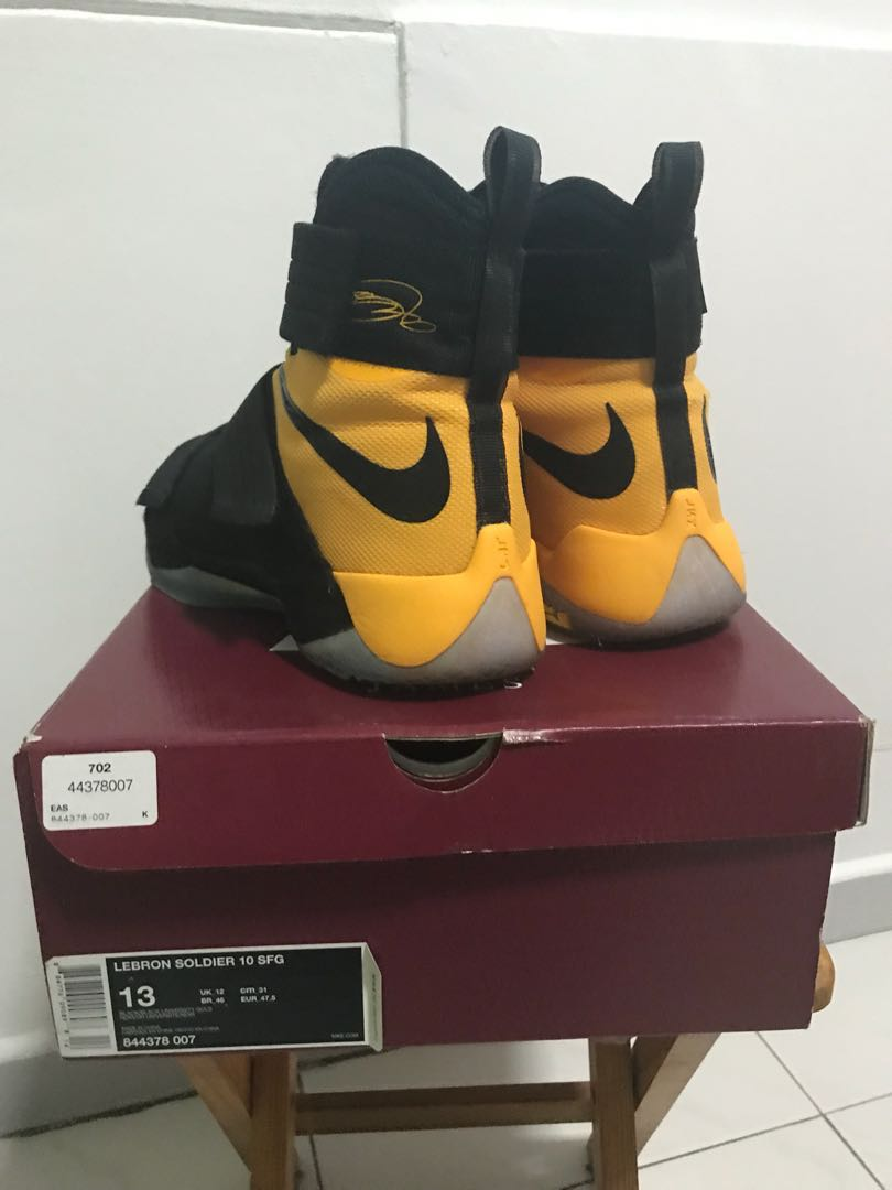 new product 57e46 96a8d LEBRON SOLDIER 10 SFG
