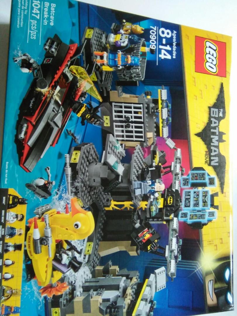 Lego Batman Batcave Break Ln 70909 Toys Games Bricks Figurines The Movie In On Carousell