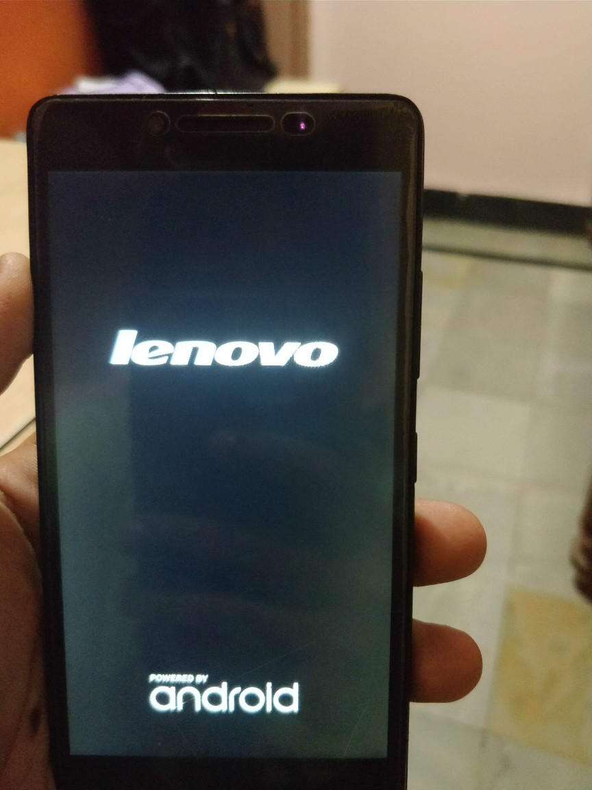 LENOVO A6000 PLUS ( STUCK AT LOGO )