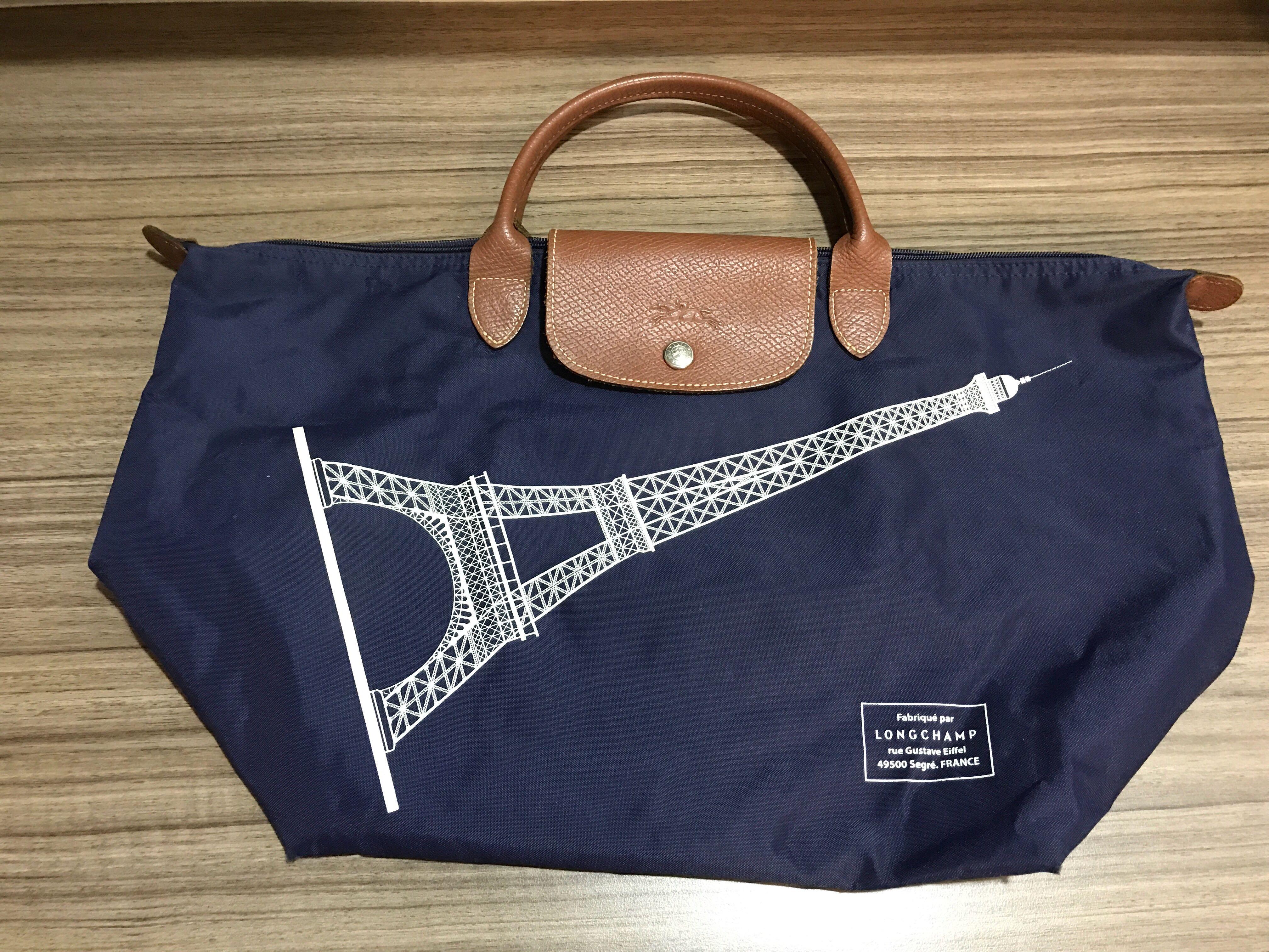 69f6a2357a Longchamp short handle tote bag (medium), Women's Fashion, Bags ...