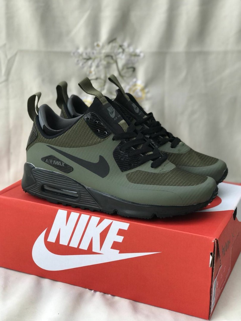 23677676f8 Nike Air Max Winter Green Army, Men's Fashion, Footwear, Sneakers on ...