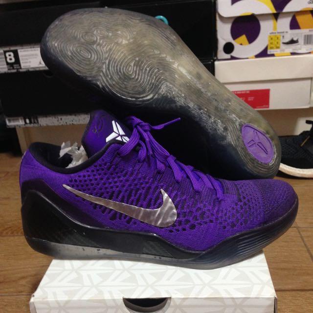 7bd5dcd7e8d8 Nike Kobe 9 Elite Low Michael Jackson Moonwalker US8.5