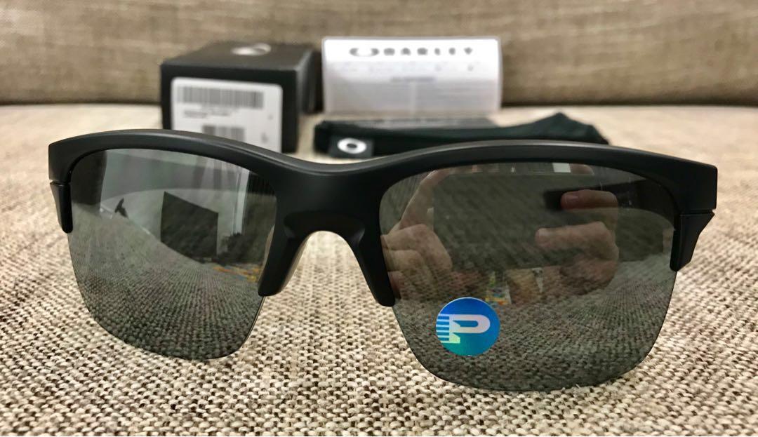 5b149975b1 Oakley™ THINLINK Asian Fit (Matte Black Black Iridium Polarized ...