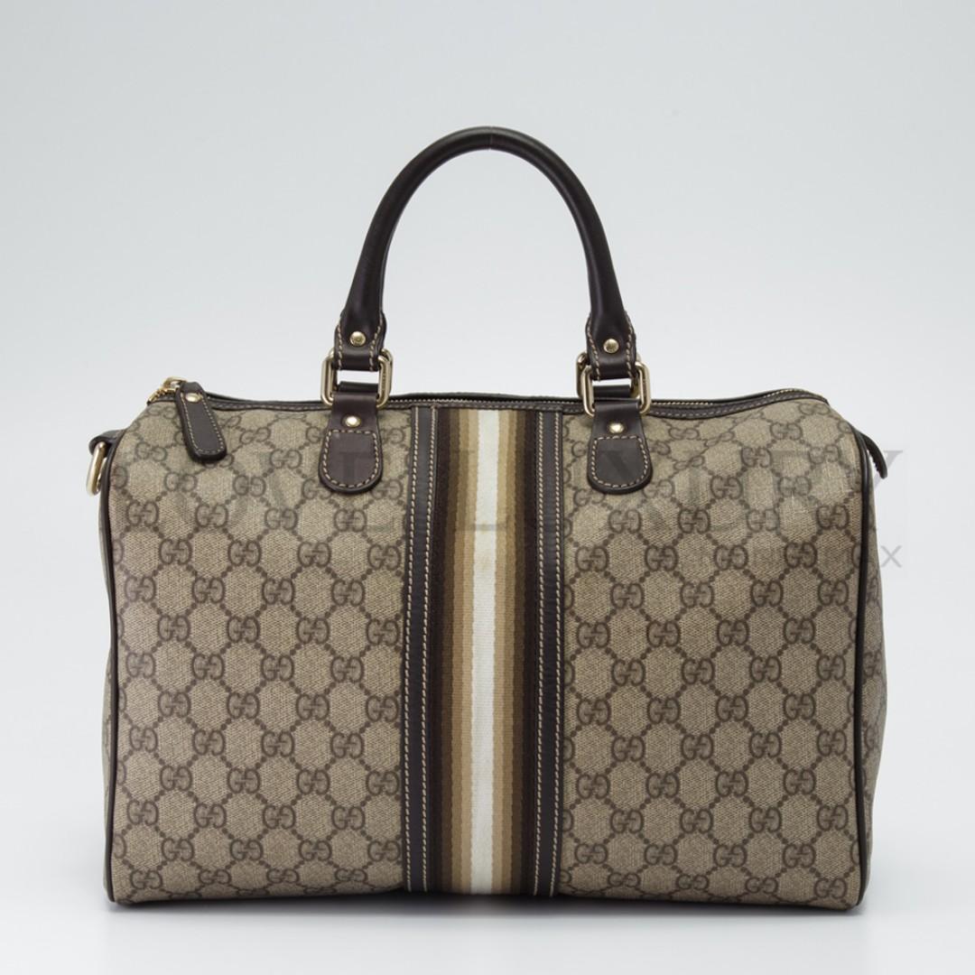 7a1925439 Preowned Gucci, Joy Boston Bag - 189895 (POB0005902), Luxury, Bags ...