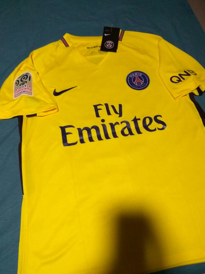 7e87c34b PSG Away Kit, Sports, Sports Apparel on Carousell